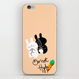 Do Not Hyde (Pink) iPhone Skin