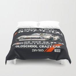 Crazy Car Art 0133 Duvet Cover