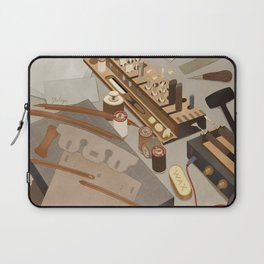Leather tools Laptop Sleeve