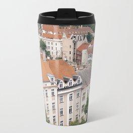Prague Rooftops Travel Mug