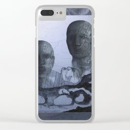 The Ancestors Watch Clear iPhone Case