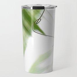 Peaceful green shades of graceful nature Travel Mug