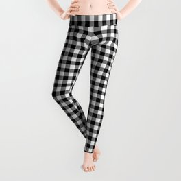 Gingham (Black/White) Leggings