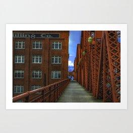 Milling CO. Art Print