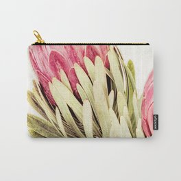 Peony Print Carry-All Pouch