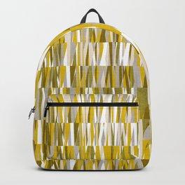Wexler Mid-Century Modern Geo in Mustard Backpack