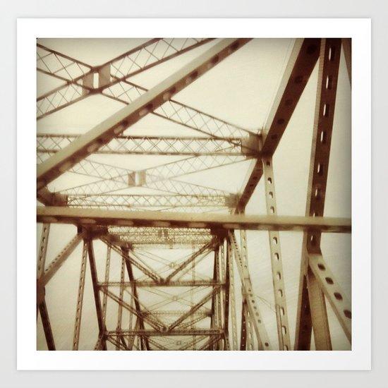 Tappan Zee Bridge Art Print