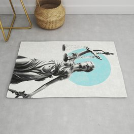 Lady of justice Rug