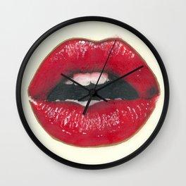 Lush - Red Lips Wall Clock