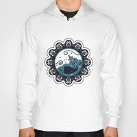the whale Hoodies featuring whale by gazonula