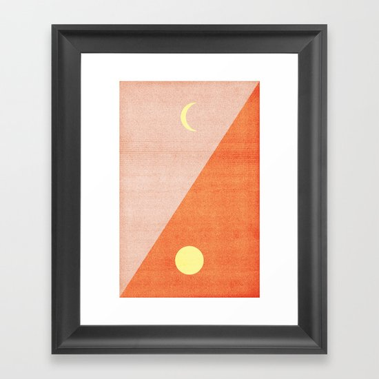 Last Days of Summer. Framed Art Print