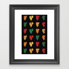Smokes Framed Art Print
