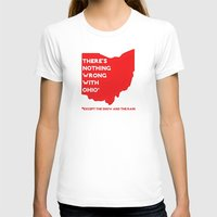 cincinnati T-shirts featuring Nothing Wrong in Ohio by Bunhugger Design