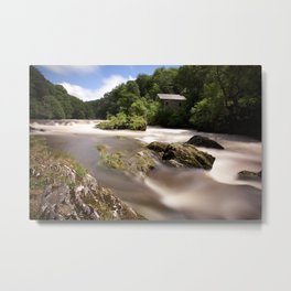 Cenarth Falls Metal Print