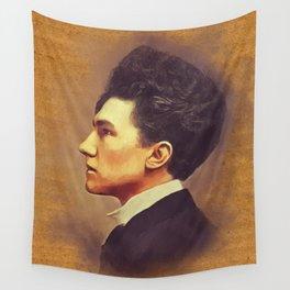 Ezra Pound, Literary Legend Wall Tapestry