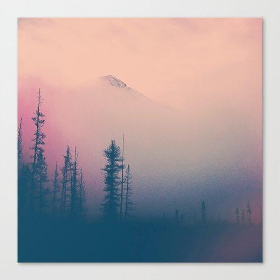 Frozen Forest Canvas Print