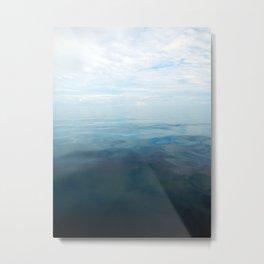 Infinite Blue #2 Metal Print