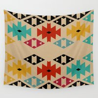 bohemian Wall Tapestries featuring Bohemian n2 by spinL