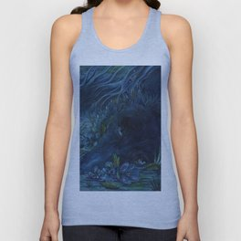 disappear Unisex Tank Top