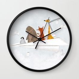 plane sailing Wall Clock