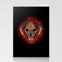 diablo Stationery Cards featuring Diablo by Digital Dreams