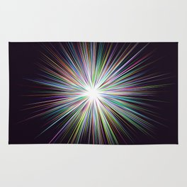 Shine sunshine design Rug
