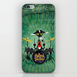 The Goat - Drums. The Twitch Doctors iPhone Skin