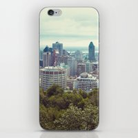 montreal iPhone & iPod Skins featuring Montreal by GF Fine Art Photography