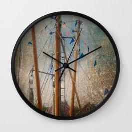 Mali in nave Carolinsiel Wall Clock