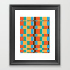 color patterns Framed Art Print