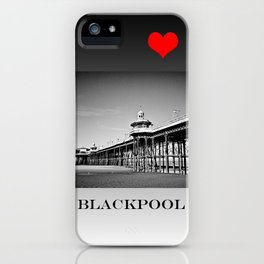 North Pier Blackpool iPhone Case
