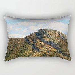 Hawks Bill * Linville Gorge * right B4 the fire Rectangular Pillow