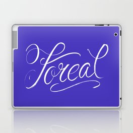 Foreal (Hip Hop Calligraphy I) Laptop & iPad Skin