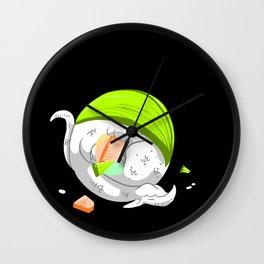 Sushi Dragons Wall Clock