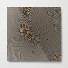 Tree Rings 1 Metal Print