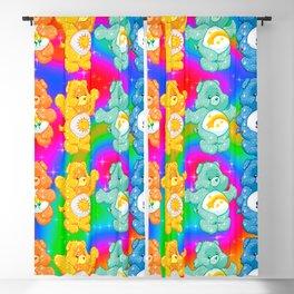 Rainbow Care Bears  Blackout Curtain
