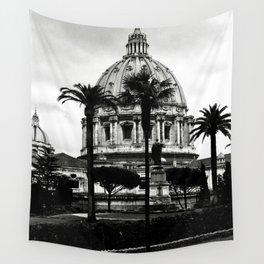 La cupola di San Pietro Wall Tapestry