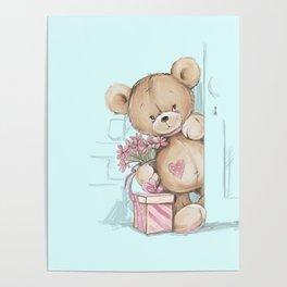 Teddy Boy Poster