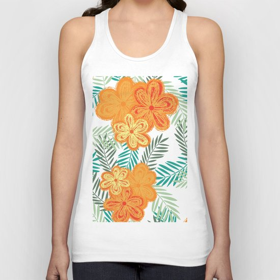 Graphic Garden 6 Unisex Tank Top