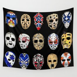 Mask Sequence Wall Tapestry