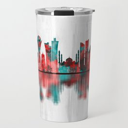Nur-Sultan Kazakhstan Skyline Travel Mug