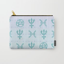 Pastel Pisces Carry-All Pouch
