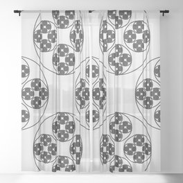 Circle Splendor 4 Sheer Curtain