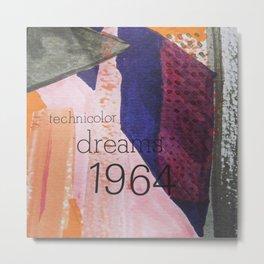 Technicolor Dreams Metal Print