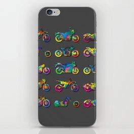 AP172-10 Motorcycles iPhone Skin