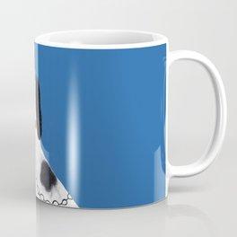 Blue Staffordshire Dog #2 Coffee Mug