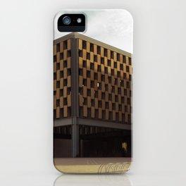 Palau de Congressos iPhone Case