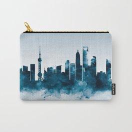 Shanghai Skyline Carry-All Pouch