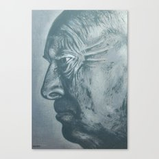 vladimir nabokov-grey scale Canvas Print