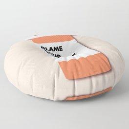 Blame Your Parents Floor Pillow